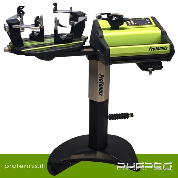 Protennis RHAPSO incordatrice elettronica professionale lineare (cavalletto elettrico)