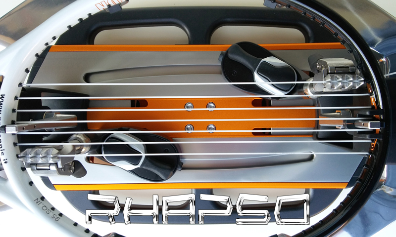 stringing machine RHAPSO turntable and strings